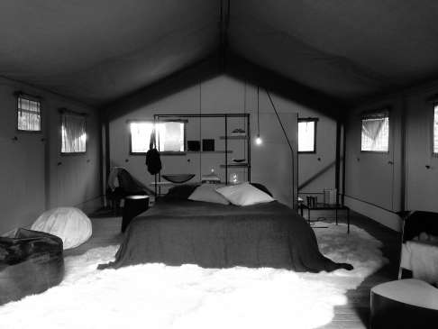 Glamping  Fond'Roy Peter Ivens Bea Mombaers